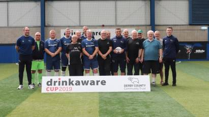 Derby County Community Trust Host Second Drinkaware Cup