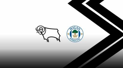 Tickets For Derby's Next Home Game Against Wigan Still Available