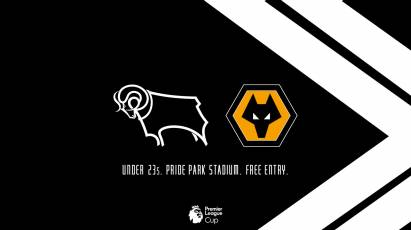 Support The U23s Against Wolves At Pride Park For Free Tonight