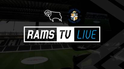 Derby County Vs Luton Town Available To Watch Outside Of The UK on RamsTV