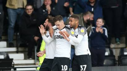 IN PICTURES: Derby County 2-0 Luton Town