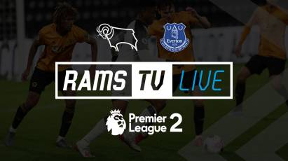 Watch Derby Under-23s Take On Everton Under-23s For FREE On RamsTV