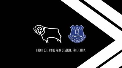 Watch Derby's U23s Take On Everton At Pride Park For Free On Friday