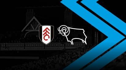 Tickets For Derby's Clash At Fulham Available On General Sale