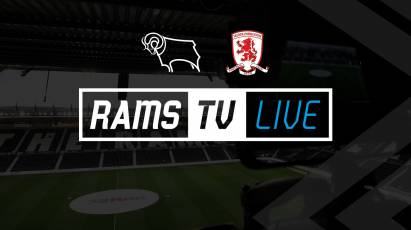Derby Vs Middlesbrough Available To Watch Outside The UK On RamsTV