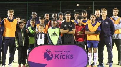 Derby County Premier League Kicks Sessions Inspiring Youngsters In Normanton