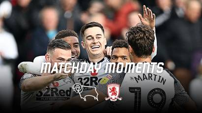 Matchday Moments: Derby County 2-0 Middlesbrough