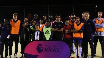 Derby Duo Martin And Dowell Visit Premier League Kicks Session