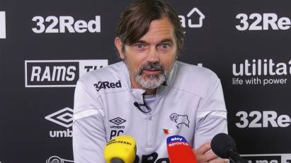 Cocu Addresses The Press Ahead Of East Midlands Derby Clash