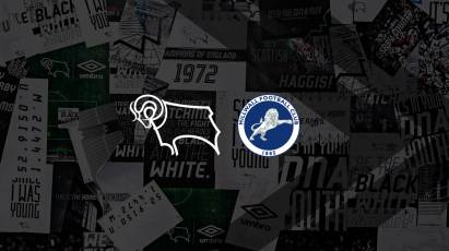 See Derby In Action At Pride Park For The Final Time Before Christmas Against Millwall