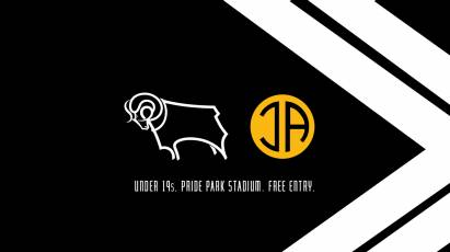 Watch Derby County Youngsters IN UEFA Youth League Action At Pride Park Tonight