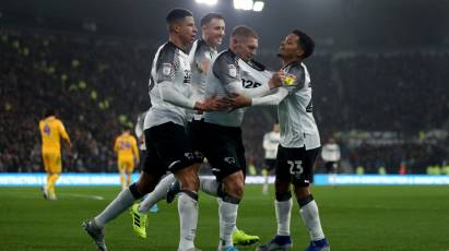IN PICTURES: Derby County 1-0 Preston North End