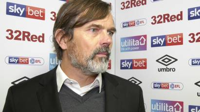 "Cocu: ""I Loved How We Played In The First Half"""