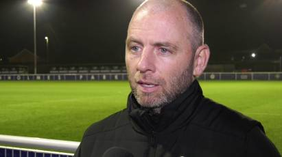 Lyons Reflects On A Tough Test For U23s Against Leicester