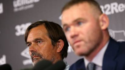 Cocu Confirms Rooney Will Be In The Derby Dugout This Weekend