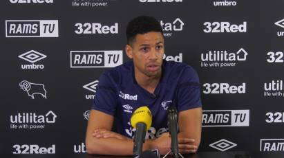 Curtis Davies Speaks To The Press Ahead Of QPR Test