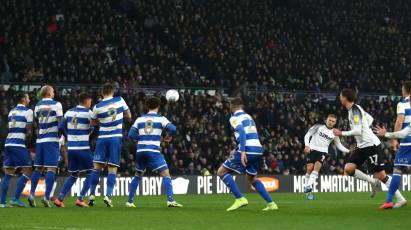 Rams Settle For A 1-1 Draw Against QPR At Pride Park