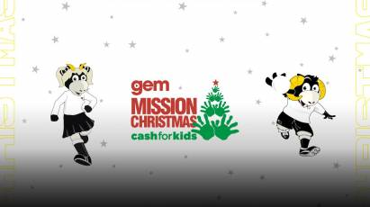 Support Gem's 'Cash For Kids' Campaign This Christmas