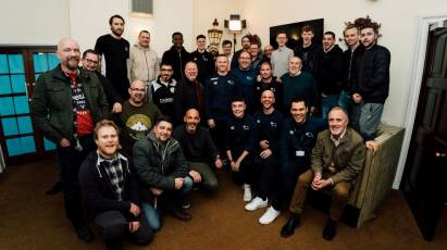 Participants Of Community Trust's Team Talk Programme Get Visit From Wayne Rooney