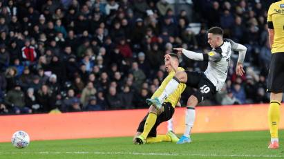 Watch The Full 90 Minutes As Derby County Faced Millwall