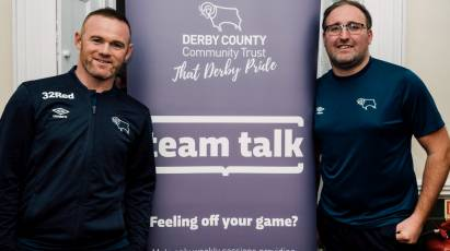 Community Trust's Team Talk Participants Get Special Wayne Rooney Visit