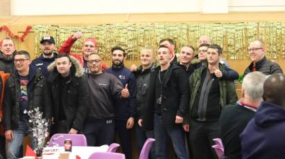 Rams Pair Join In The Festivities At The Active Choices Christmas Meal