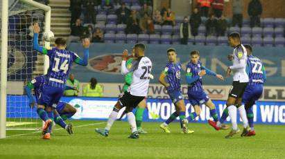 Waghorn Powers In Added Time Equaliser In 1-1 Draw With Wigan