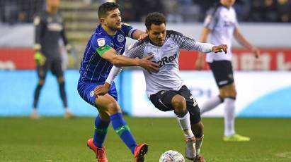 IN PICTURES: Wigan Athletic 1-1 Derby County