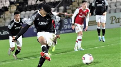 Watch The Full 90 As Derby County Under-23s Took On Arsenal