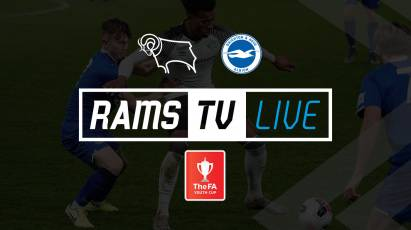 Watch Derby County U18s' FA Youth Cup Clash With Brighton U18s For FREE On RamsTV
