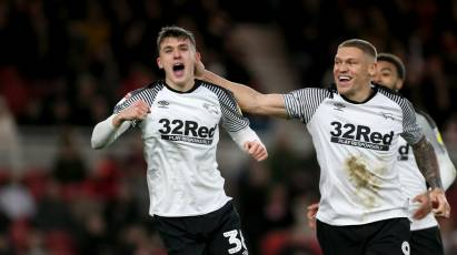 IN PICTURES: Middlesbrough 2-2 Derby County