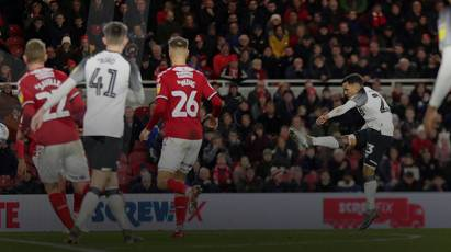 Matchday Moments: Middlesbrough 2-2 Derby County