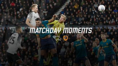 Matchday Moments: Derby County 1-0 Hull City