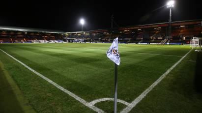 Seven Changes For The Rams For Luton Town Test