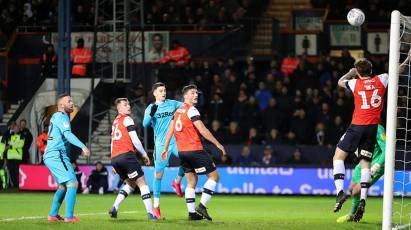 IN PICTURES: Luton Town 3-2 Derby County