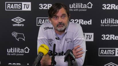 Cocu Addresses Media Ahead Of Return To Pride Park To Host Stoke City