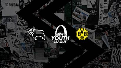 Watch Derby County U19s' UEFA Youth League Clash With Borussia Dortmund At Pride Park TODAY For Free
