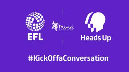 Derby County Joins Football In Uniting To Kick Off Biggest Ever Conversation On Mental Health