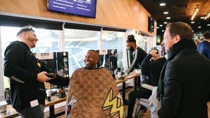 Derby Barbers Team Up At Pride Park Prostate Cancer Event