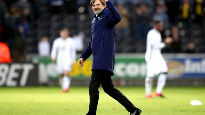 Cocu Delighted As Rams Storm Back To Win At Swansea