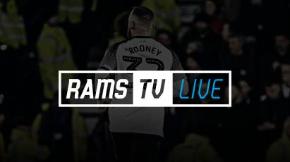 Watch Bristol City Vs Derby County On RamsTV For The Chance To Win A Signed Wayne Rooney Shirt