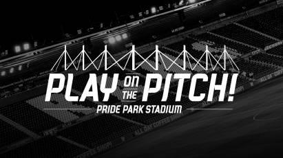 Your Chance To Play On The Pitch At Pride Park Stadium!