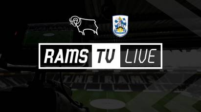 Watch Derby County Vs Huddersfield Town On RamsTV For The Chance To Win A Signed Rooney Shirt