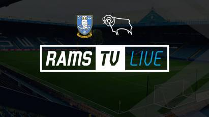 Watch Sheffield Wednesday Vs Derby County On RamsTV For The Chance To Win A Signed Rooney Shirt