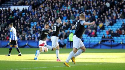 HIGHLIGHTS: Sheffield Wednesday 1-3 Derby County