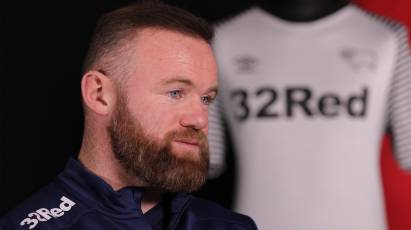 Derby Skipper Wayne Rooney Looks Ahead To Manchester United Reunion