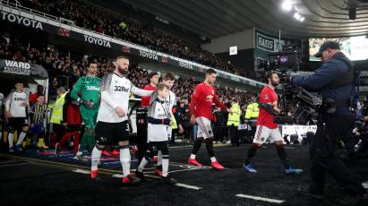 Watch The Full 90 Minutes As Derby County Faced Manchester United