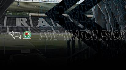 Everything You Need To Know About Derby's Sunday Afternoon Clash Against Blackburn