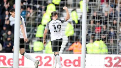 IN PICTURES: Derby County 3-0 Blackburn Rovers