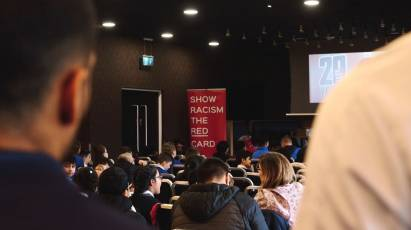 Rams Play Their Part In Show Racism The Red Card Workshop